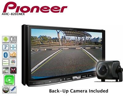 Pioneer Double Din DVD CD CarPlay Pandora Android AUX Iphone USB Bluetooth