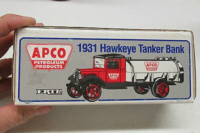 Ertl Apco Petroleum Products  Advertising Bank Mint In The Box