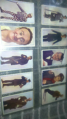cigarette cards music hall celebrities 1930 full set