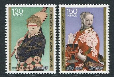 International Letter Writing Week 1987 - Muh Set Of Two (G118-Rr)