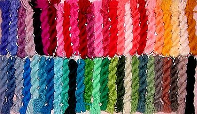 50 Hanks Paternayan Wool 3ply Persian Needlepoint Crewel Embroidery Yarn Lot