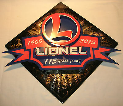Lionel 9-42034 Store Display 115th Anniversary 3D Wall Art New in Shipper