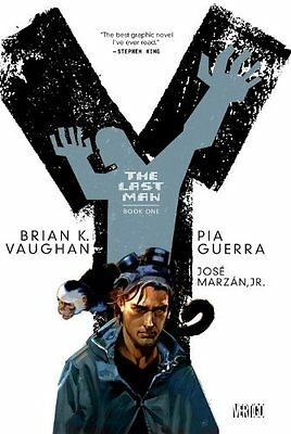 Y: The Last Man Book One New Paperback Book Brian K. Vaughan, Pia Guerra, Jose M