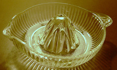 Vintage Clear Glass Jucier
