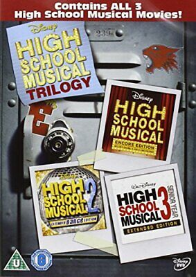 High School Musical 1-3 [DVD] - DVD  Y2VG The Cheap Fast Free Post