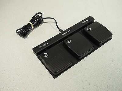 DAC FP-110-USB-WP Waterproof Foot Pedal for Dictation Tested Working