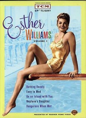 fa3d136352f Esther Williams - Esther Williams Collection  TCM Spotlight  New DVD  Gift  Set