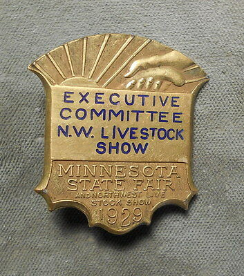 Minnesota State Fair & Northwest Live Stock Show 1929 Executive Committee MN