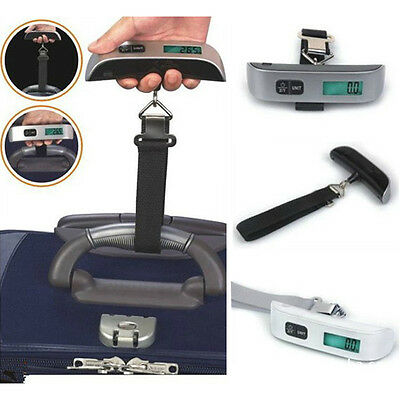 Portable  Home 50kg Handheld Digital Luggage Scale Balance Weighing Suitcase New