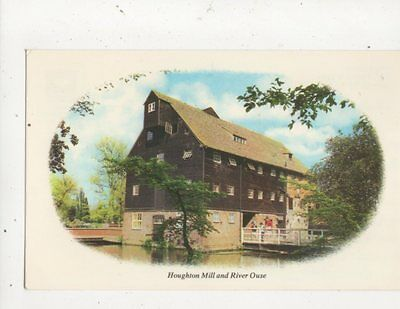 Houghton Mill & River Ouse Postcard 579a