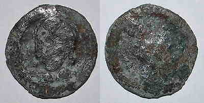 (9062) Samarqand Soghd, Anepigraphic AE coin, Unknown ruler.