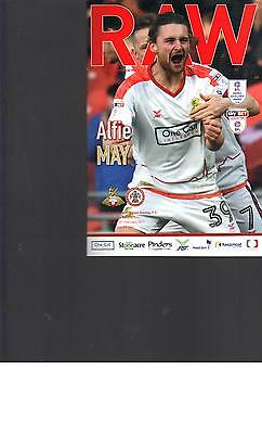 PROGRAMME - DONCASTER ROVERS v ACCRINGTON STANLEY - 25 FEBRUARY 2017