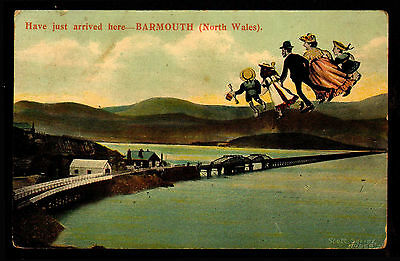 E93 Have Just Arrived Here - BARMOUTH Posted 1908