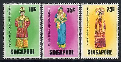 SINGAPORE MNH 1976 SG283-85 Bridal Costumes