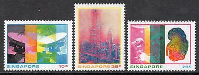 SINGAPORE MNH 1975 SG253-55 Science and Industry