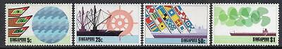 SINGAPORE MNH 1975 SG249-52 9th Biennial Conference of Ports and Harbours