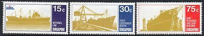 SINGAPORE MNH 1970 SG143-145  Ships of the Neptune Orient Lines