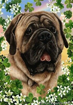 Large Indoor/Outdoor St. Patrick's Flag - Fawn Mastiff 31113