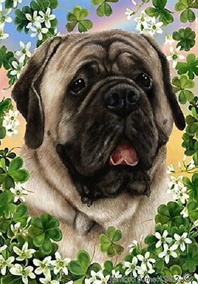 Large Indoor/Outdoor St. Patrick's Flag - Silver Mastiff 31277