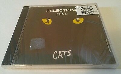 CATS [Selections from the Original Broadway Show] (CD, 1989, PolyGram) NEW