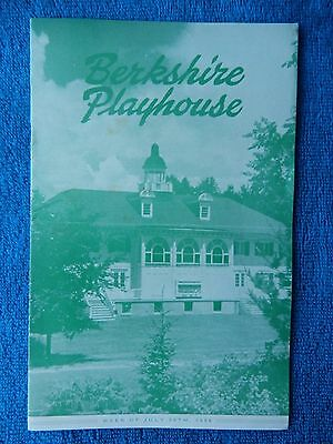 The Happy Time - Berkshire Playhouse Theatre Playbill - July 30th, 1956 - Lipson