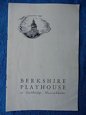 Hay Fever - Berkshire Playhouse Theatre Playbill - July 27th, 1931