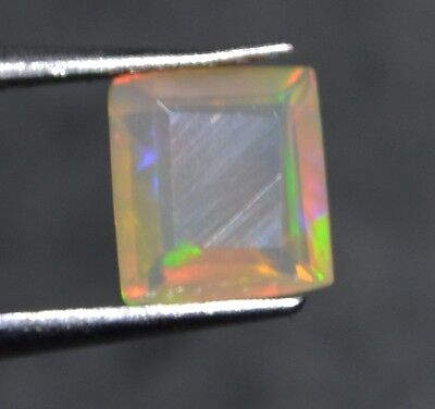 0.75 Cts  Natural Untreated Faceted Ethiopian Welo Fire Opal OF26