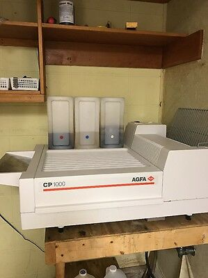 AGFA CP1000 Automatic X-ray Radiograph Film Processor + Accessories