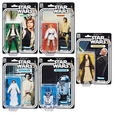 Star Wars Black Series 40th Anniversary 6-Inch Action Figures Wave 1 Canadian !