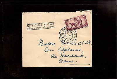 Ireland 1960 First Day Cover # 173, World Refugee Year !!