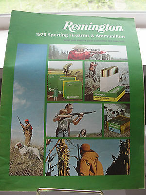 Remington Peters Magazine, 1975 Sporting Firearms, DuPont, old, guns, hunting