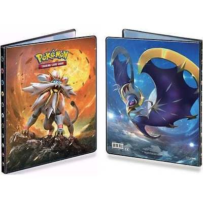 Pokemon Sun & Moon Ultra Pro 9 Pocket Portfolio A4 Size - Folder Album Brand New