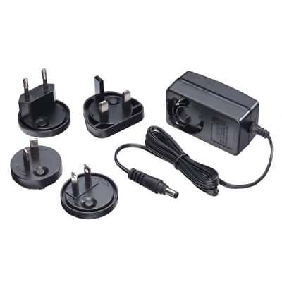 LINDY Multi Country Switching AC Adapter 5VDC 2A. 1.7mm Inner 4.75mm Outer Jack