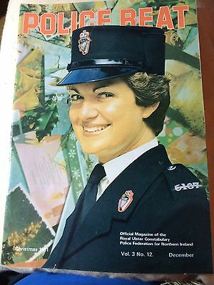 1971 Christmas Ruc Royal Ulster Constabulary Police Beat Federation Magazine