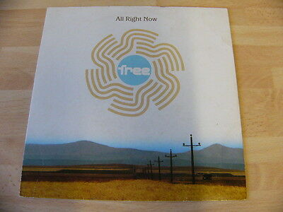 """Free-All Right Now-7"""" Vinyl Single 1991"""