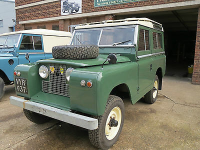 Land Rover Series 2 Station Wagon 1959, Mot And Tax Exempt, A Beautiful Example