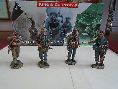 (1) K&c 4 German Soldiers  Rom The Wwii Range   (2004)
