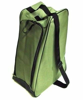 Olive Green boot bag welly wellington boot bag muddy boots
