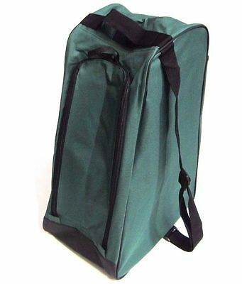 Forest Green boot bag welly wellington boot bag muddy boots