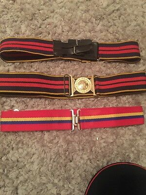 British Army Stable Belts X 3