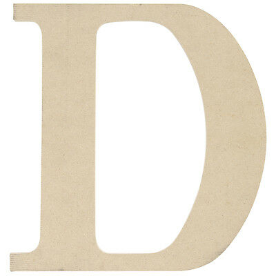 "MDF Classic Font Wood Letters & Numbers 9.5""-D"