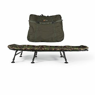 Cyprinus Base Camp Compact Carp Fishing Bedchair Bed And Bag Combo Deal