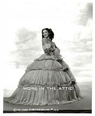 Lovely Loretta Young Elegant Columbia Pictures Hollywood Portrait Still