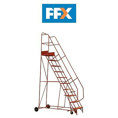 Sealey MSS10 Mobile Safety Steps 10-Tread