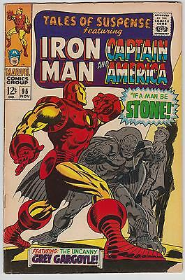 Tales Of Suspense #95, Cents Issue, Captain America & Iron Man