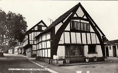 Postcard - Woebley - The Oldest House