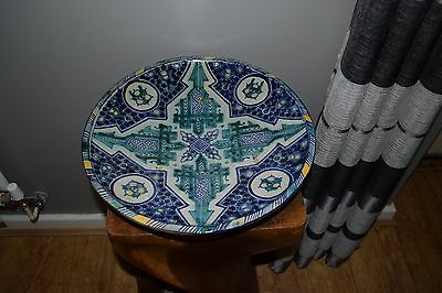 Vintage Large Moroccan / Persian Charger / Plate