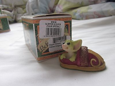 Slipper Sleeper Tour Special Pocket Dragons MIB 2001 Real Musgrave Retired