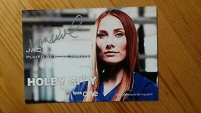 Rosie Marcel Gorgeous Hand Signed Autographed BBC Holby City Photocard As Jac