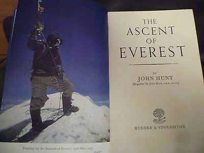 Educational film strip Conquest of Everest, 1953 plus book and pamphlets